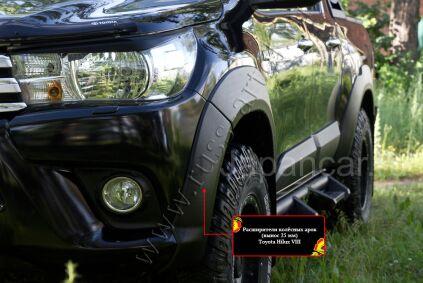 Расширители колесных арок на Toyota Hilux во Владивостоке