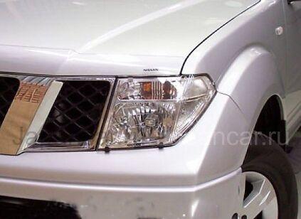 Защита на оптику на Nissan Pathfinder во Владивостоке