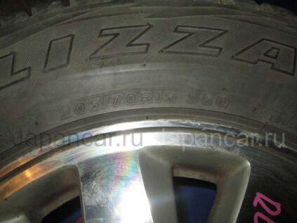 Зимние колеса Bridgestone Blizzak 205/70 15 дюймов Honda б/у в Красноярске