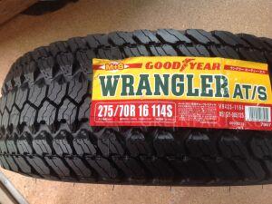 Шины GoodYear Япония Wrangler AT/S 275/70R16 летние