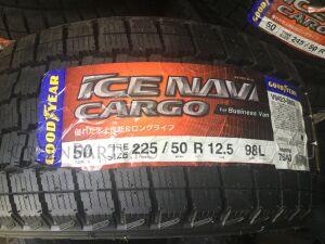 Шины Япония GoodYear Ice Navi Cargo 225/50R12.5LT зимние