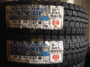Шины Япония Dunlop SV-01 8PR LT зима 145/80R13 зимние