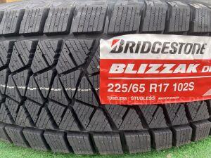 Шины Russia 2020 год Bridgestone Blizzak DM-V2 225/65R17 зимние