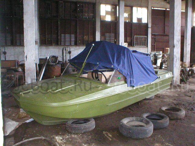 лодка пластиковая Обь 5 2003 года