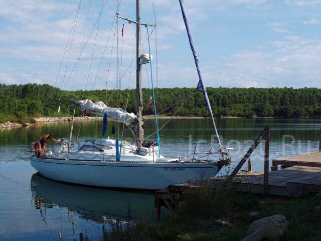 яхта парусная ЛЭС-35  1987 г.
