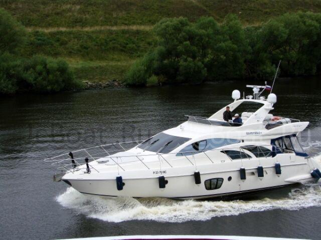 яхта моторная AZIMUT AZIMUT-55 2007 года