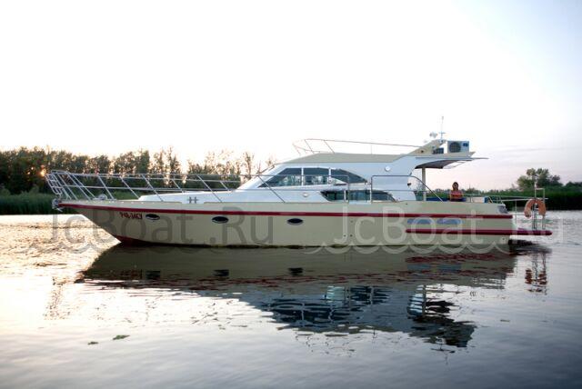 яхта моторная ЯРОСЛАВСКИЙ КАТЕР яхта из нержавеющей стали 2012 г.