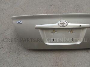 Крышка багажника на Toyota Corolla NZE121