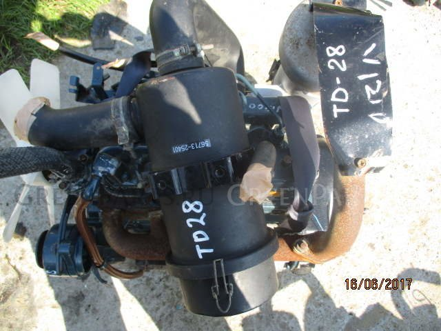 Двигатель на KUBOTA L2002