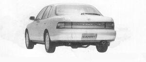 TOYOTA CAMRY 1991 г.