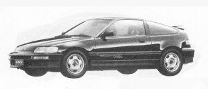 HONDA CR-X 1991 г.