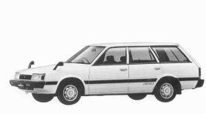 ISUZU GEMINETT II 1992 г.