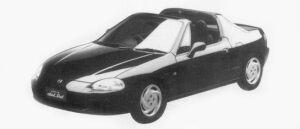 HONDA CR-X 1996 г.