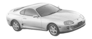 TOYOTA SUPRA 1997 г.