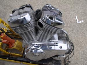 Двигатель vs750 intruder r501