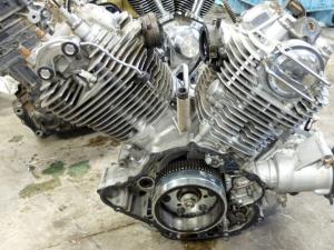 Двигатель xv1100 virago 4pp
